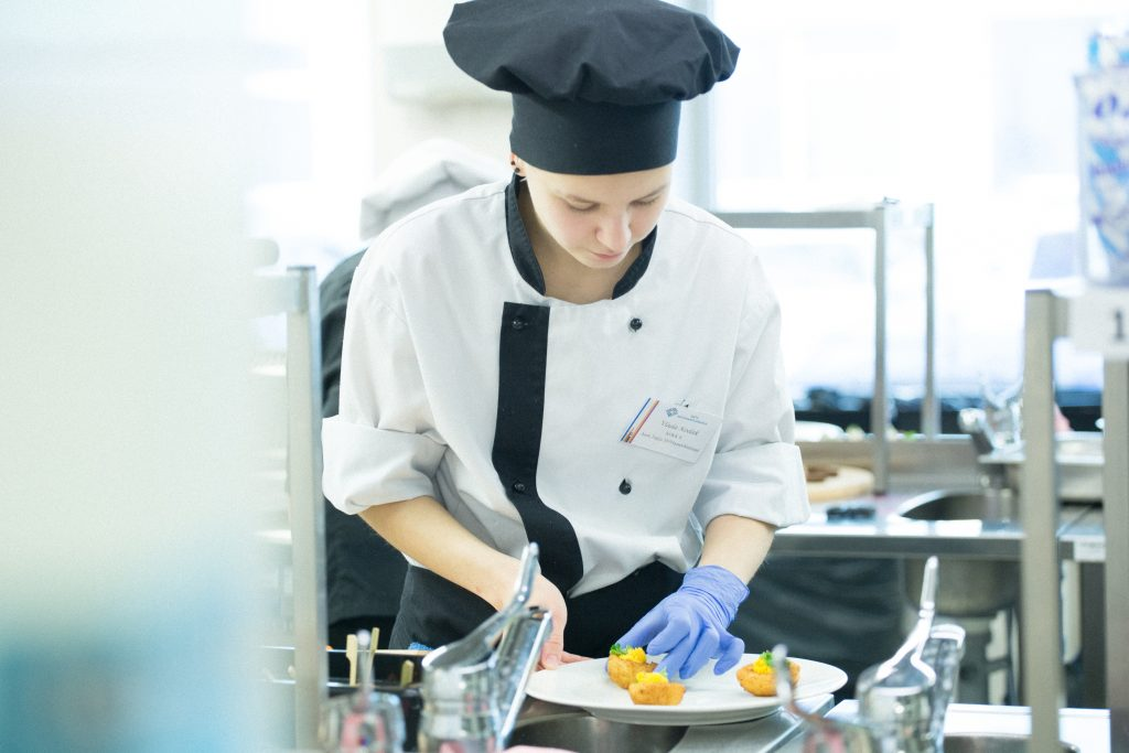 Catering and tourism department in Tartu Vocational Education centre