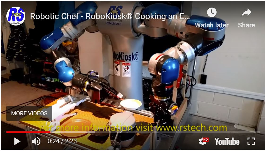 Cooking for the future with new technology