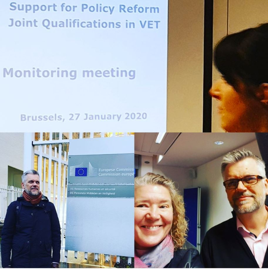 Mid-term monitoring meeting, Joint Qualifications in VET, Brussels, 27/01/2020