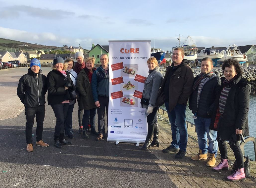 Third CORE transnational project meeting  in Tralee