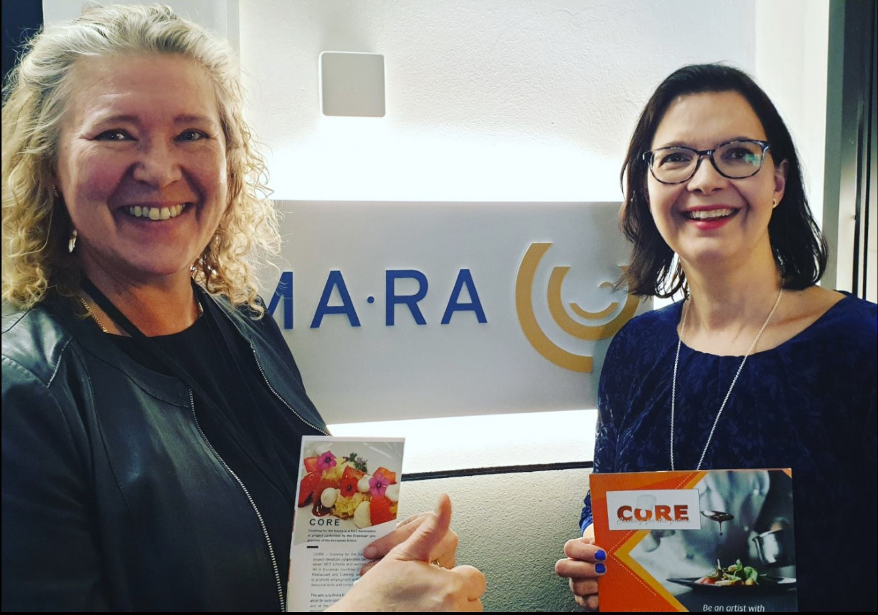 CORE project research was presented in the meeting at The Finnish Hospitality Association (MaRa)
